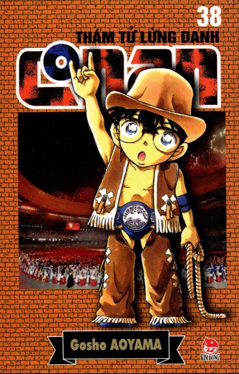 Bìa sách Thám Tử Lừng Danh Conan 38 (Tái Bản 2014)