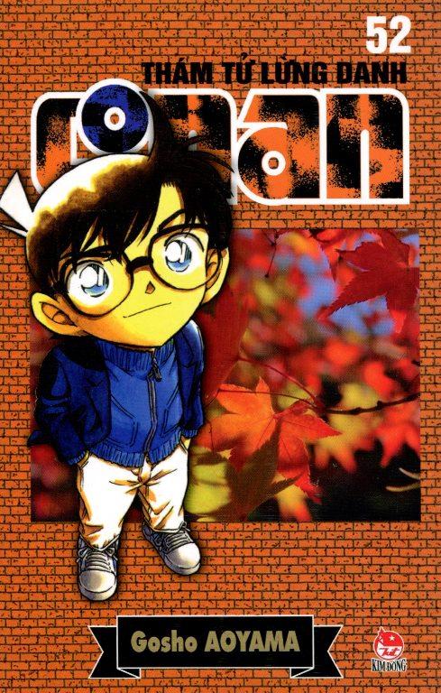 Bìa sách Thám Tử Lừng Danh Conan 52 (Tái Bản 2014)