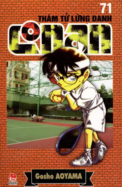Bìa sách Thám Tử Lừng Danh Conan 71 (Tái Bản 2014)