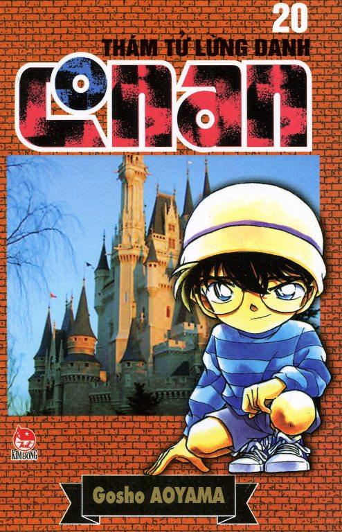 Bìa sách Thám Tử Lừng Danh Conan Tập 20 (Tái Bản 2014)
