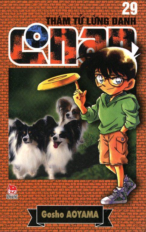 Bìa sách Thám Tử Lừng Danh Conan Tập 29 (Tái Bản 2014)