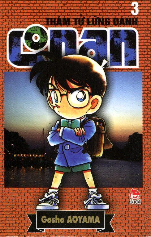 Bìa sách Thám Tử Lừng Danh Conan Tập 3 (Tái Bản 2014)