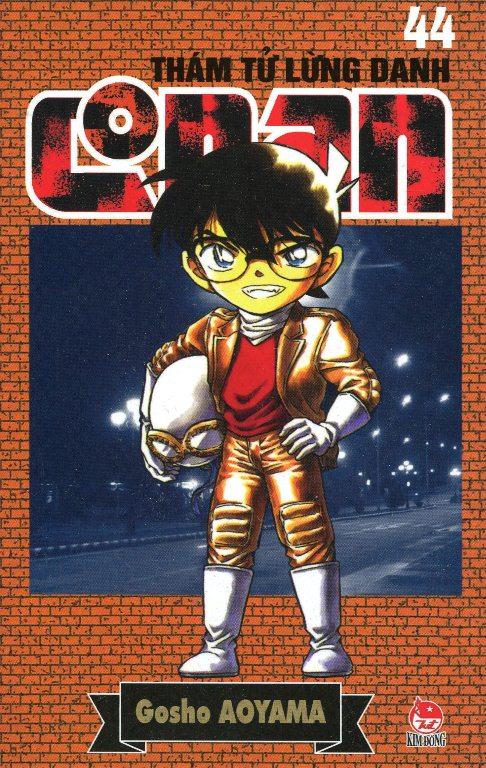 Bìa sách Thám Tử Lừng Danh Conan Tập 44 (Tái Bản 2014)