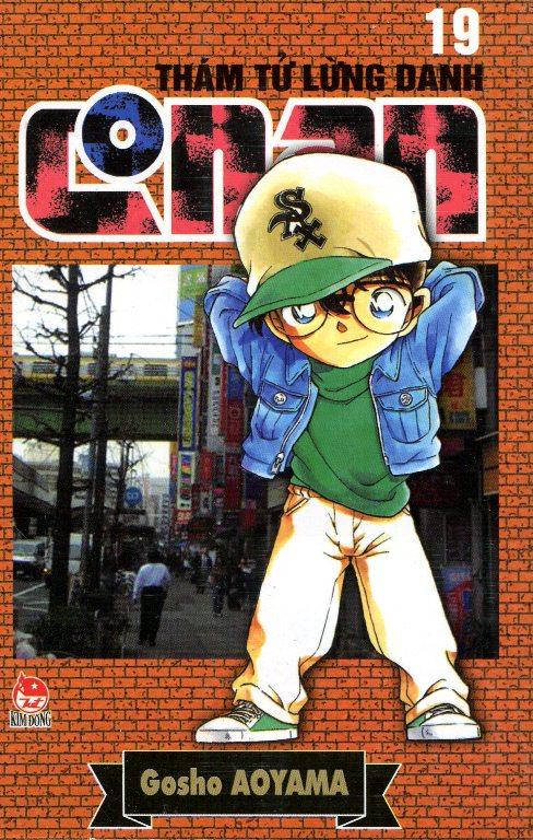 Bìa sách Thám Tử Lừng Danh Conan Tập 19 (Tái Bản 2014)