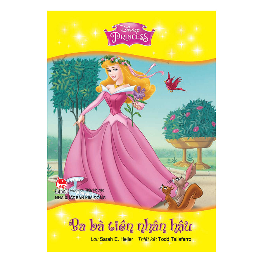 Bìa sách Tủ Sách Công Chúa Disney - Ba Bà Tiên Nhân Hậu (Tái Bản 2017)