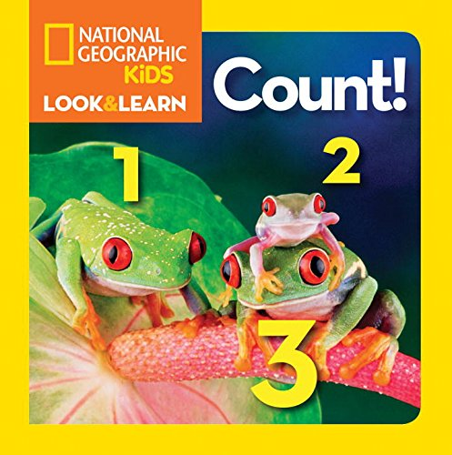 Bìa sách National Geographic Little Kids Look and Learn: Count