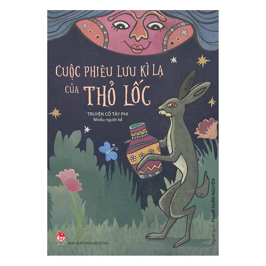 Bìa sách Cuộc Phiêu Lưu Kì Lạ Của Thỏ Lốc