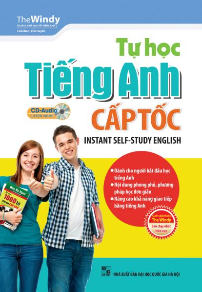 Bìa sách Tự Học Tiếng Anh Cấp Tốc (Tái Bản)