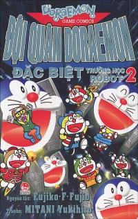 Bìa sách Đội Quân Doraemon Đặc Biệt - Trường Học Robot (Tập 2)