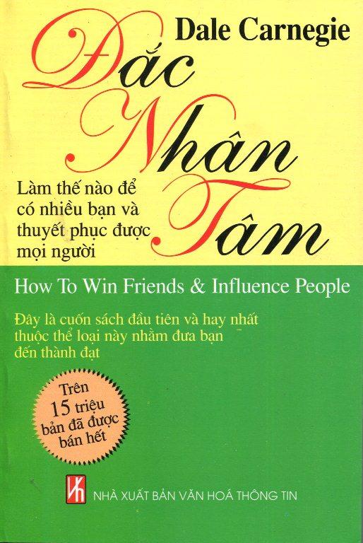 Bìa sách Đắc Nhân Tâm