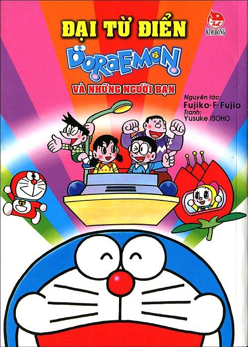 Bìa sách Đại Từ Điển Doraemon Và Những Người Bạn