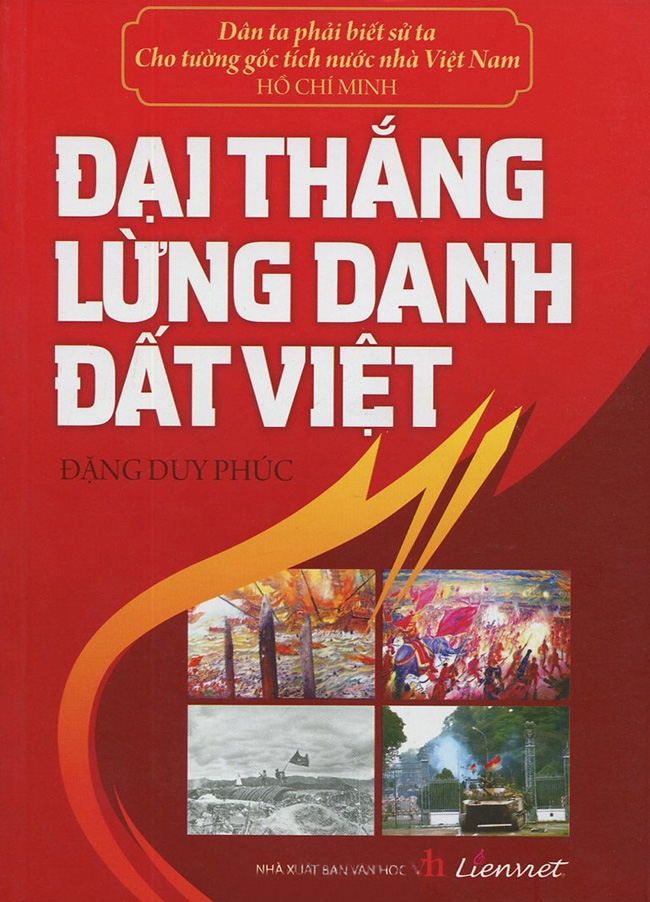 Bìa sách Đại Thắng Lừng Danh Đất Việt