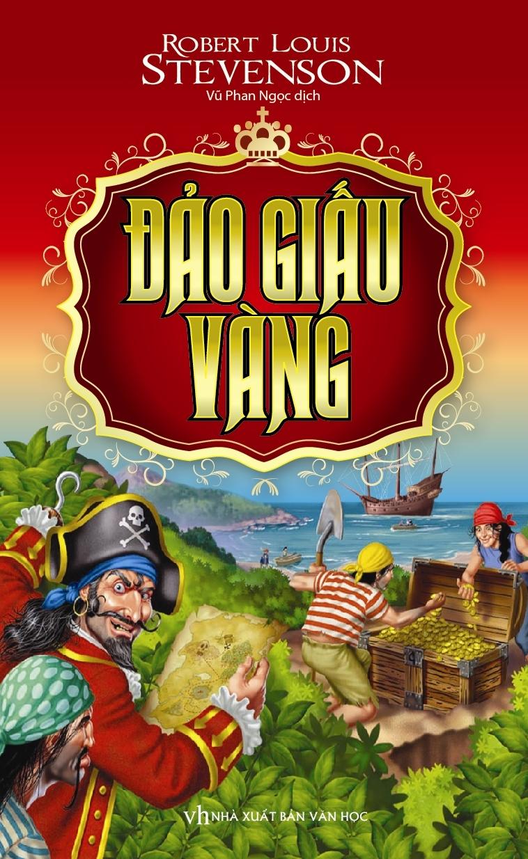 Bìa sách Đảo Giấu Vàng (Trí Việt)