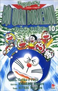 Bìa sách Đội Quân Doraemon Đặc Biệt (Tập 10)