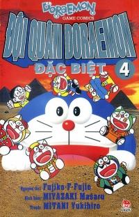 Bìa sách Đội Quân Doraemon Đặc Biệt (Tập 4)