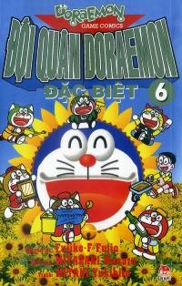 Bìa sách Đội Quân Doraemon Đặc Biệt (Tập 6)