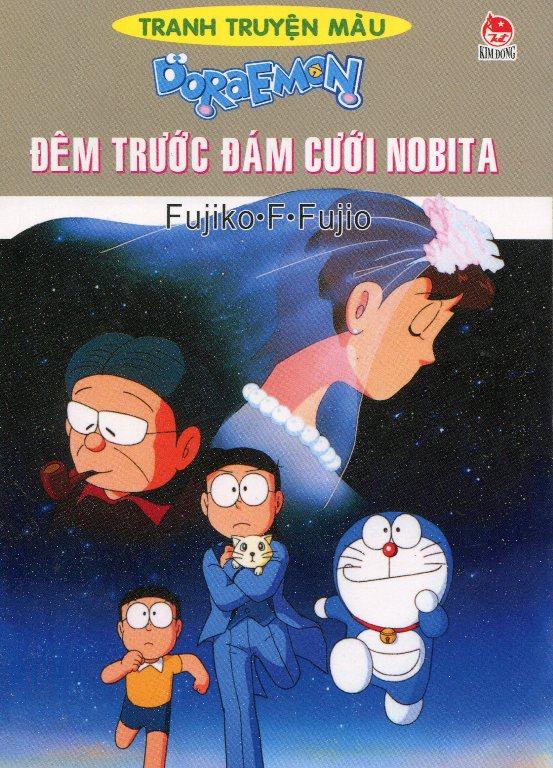 Bìa sách Đêm Trước Đám Cưới Nobita
