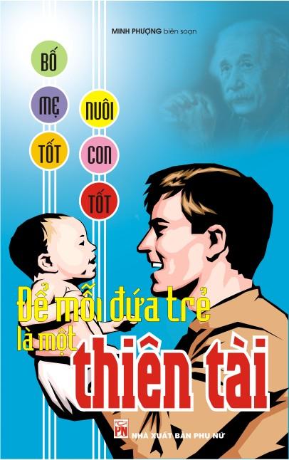 Bìa sách Để Mỗi Đứa Trẻ Là Một Thiên Tài