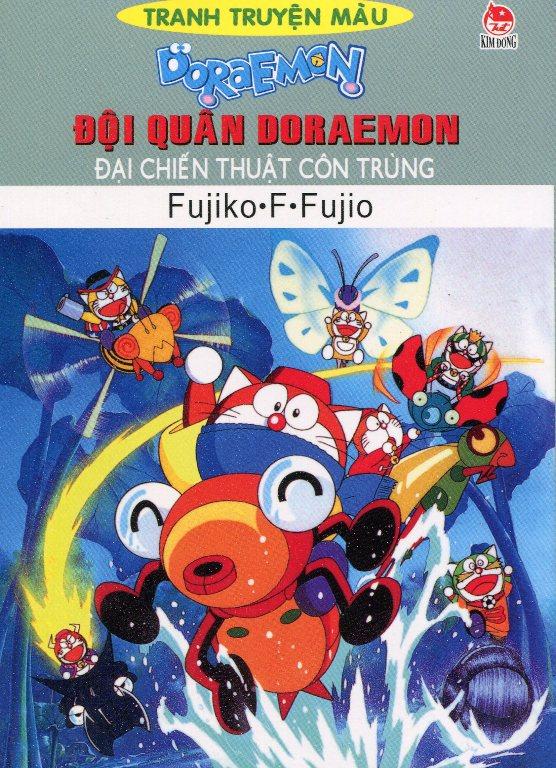 Bìa sách Đội Quân Doraemon - Đại Chiến Thuật Côn Trùng