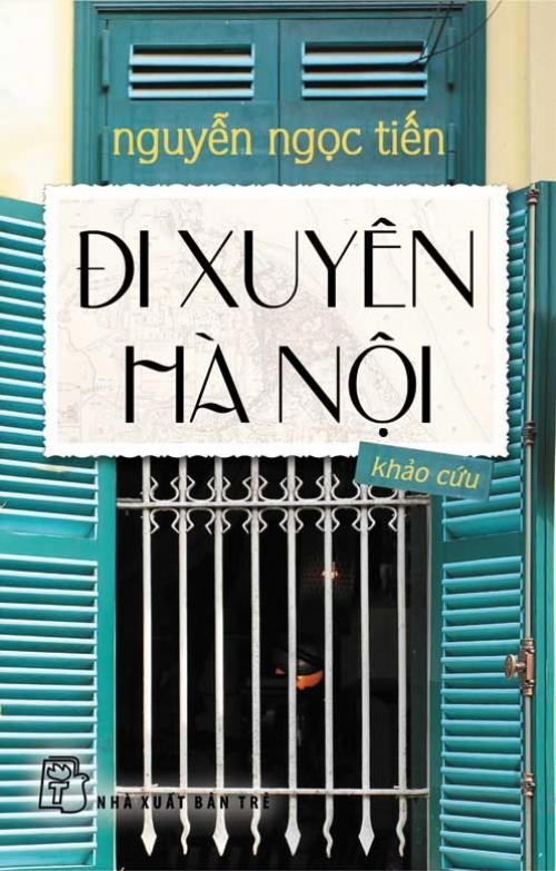 Bìa sách Đi Xuyên Hà Nội