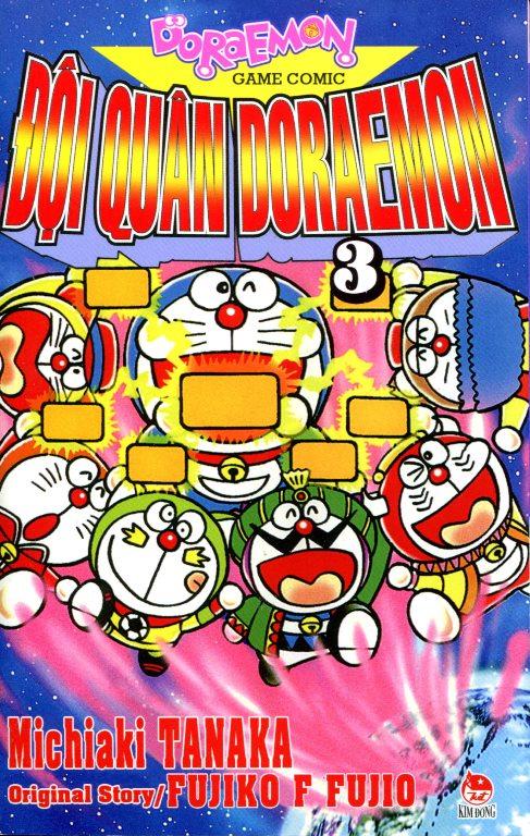 Bìa sách Đội Quân Doraemon (Tập 3)