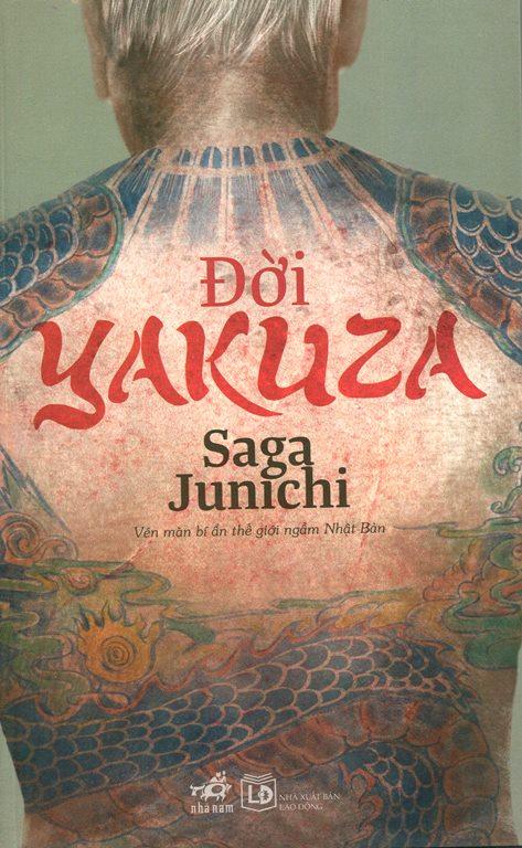 Bìa sách Đời Yakuza (Tái Bản 2014)