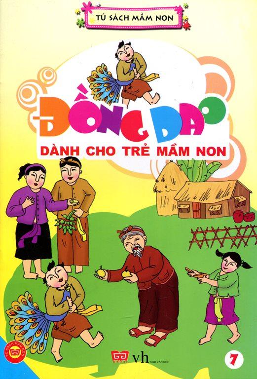 Review sách Đồng Dao Dành Cho Trẻ Mầm Non (Tập 7)