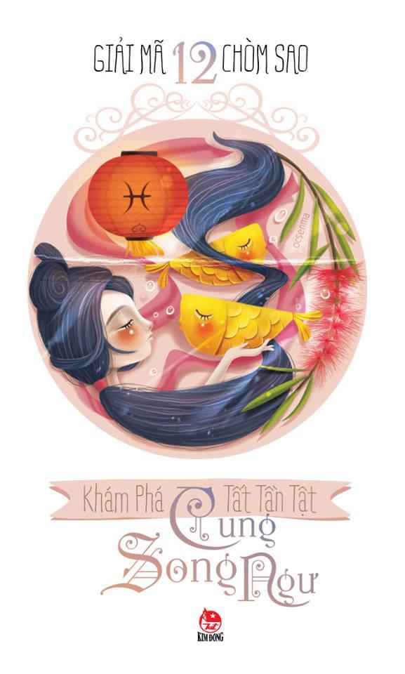 Bìa sách Giải Mã 12 Chòm Sao - Song Ngư