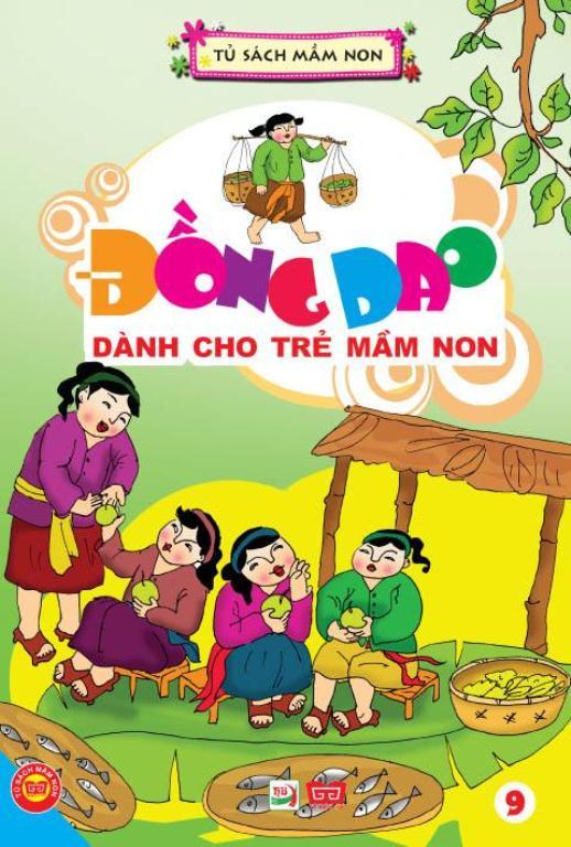Review sách Đồng Dao Dành Cho Trẻ Mầm Non Tập 9