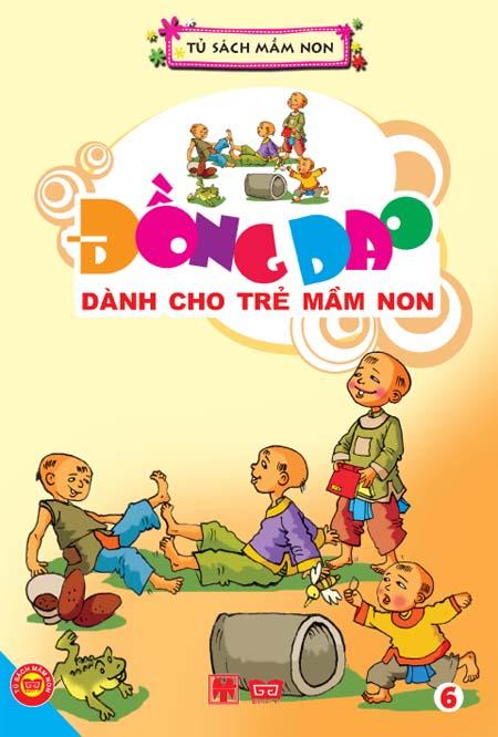 Review sách Đồng Dao Dành Cho Trẻ Mầm Non – Tập 6