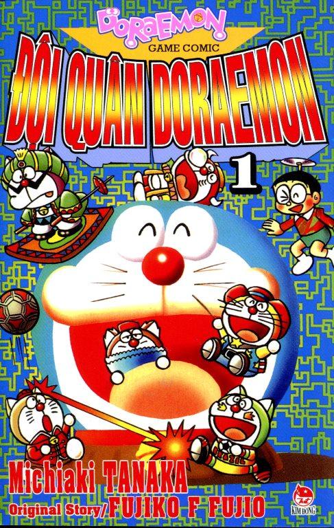 Review sách Đội Quân Doraemon (Tập 1)