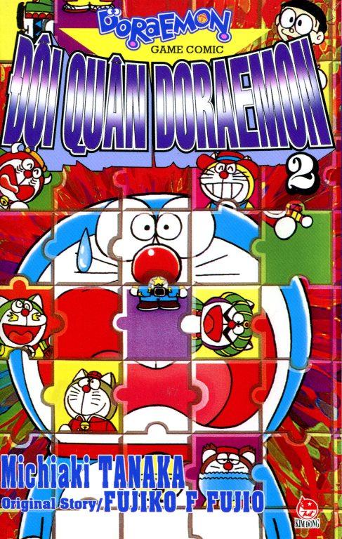Bìa sách Đội Quân Doraemon (Tập 2)