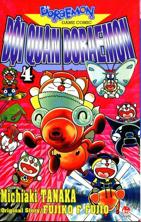 Bìa sách Đội Quân Doraemon (Tập 4)