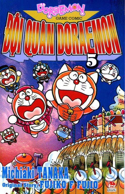 Bìa sách Đội Quân Doraemon (Tập 5)