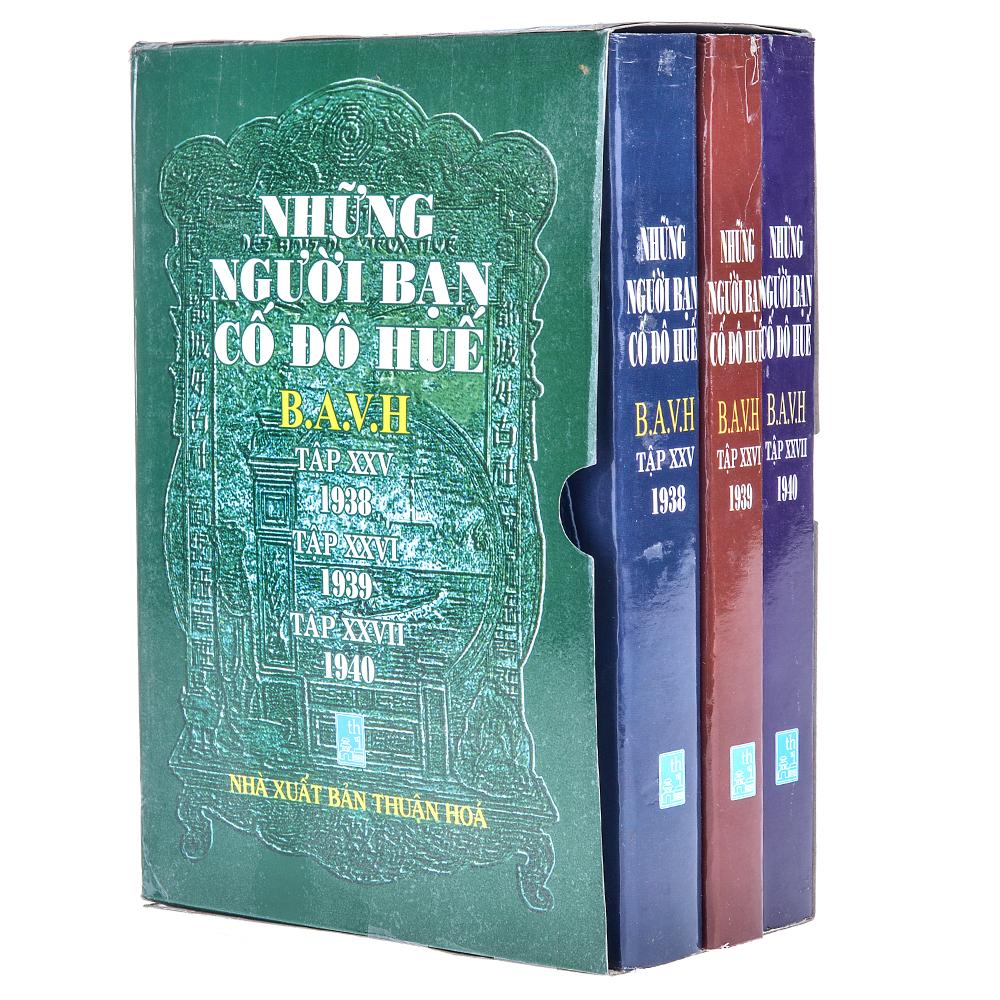 Bìa sách Những Người Bạn Cố Đô Huế (Trọn Bộ 3 Tập: 1938 - 1939 - 1940)