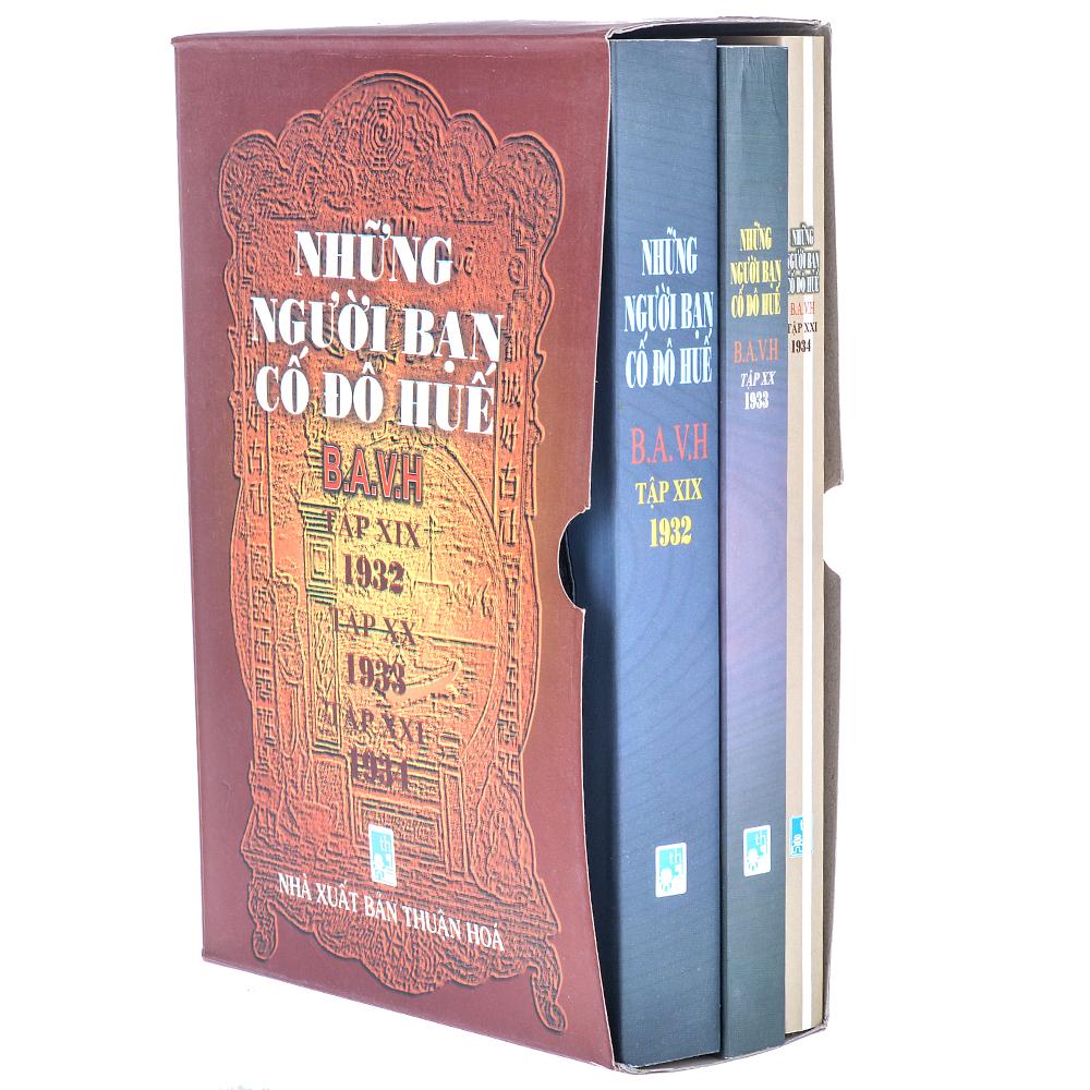Bìa sách Những Người Bạn Cố Đô Huế (Trọn Bộ 3 Tập: 1932 - 1933 - 1934)