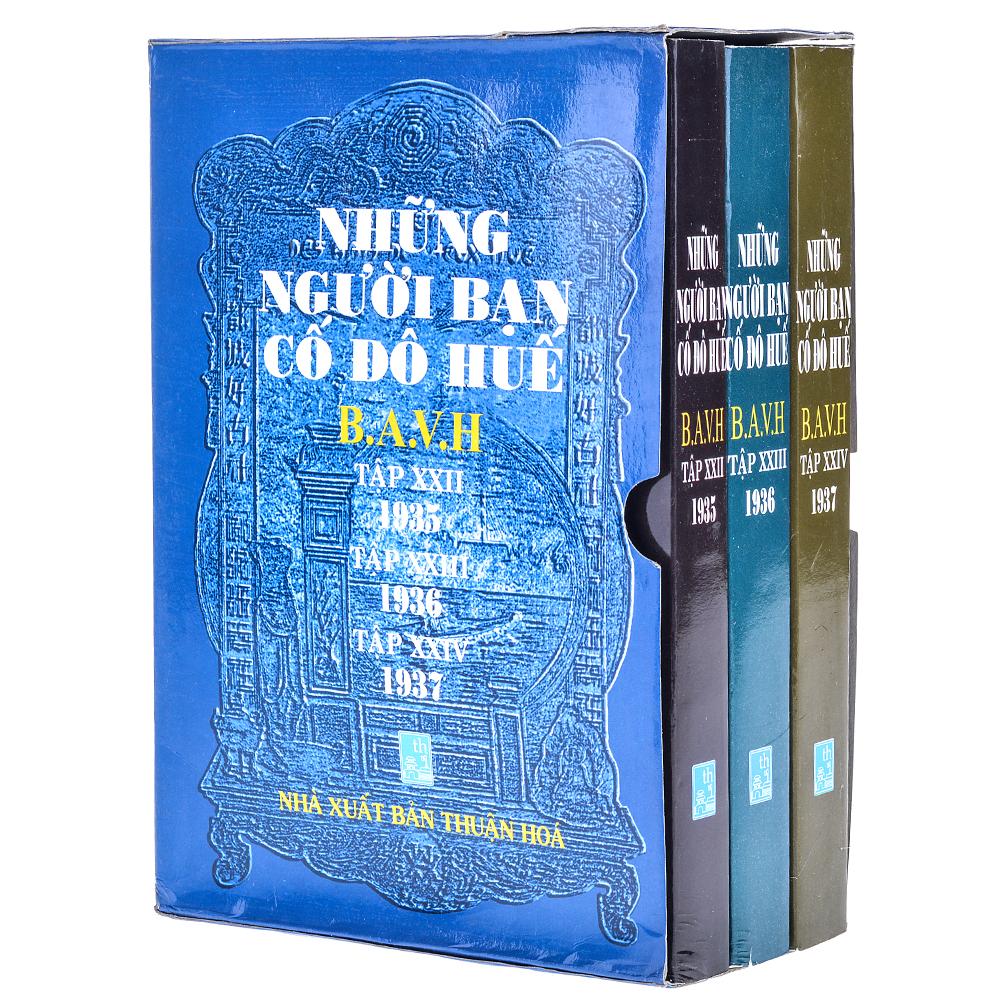 Bìa sách Những Người Bạn Cố Đô Huế (Trọn Bộ 3 Tập: 1935 - 1936 - 1937)
