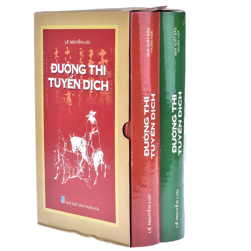 Bìa sách Đường Thi Tuyển Dịch (Trọn Bộ 2 Tập)