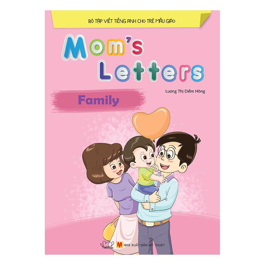 Bìa sách Moms Letters: Family