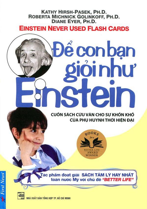Bìa sách Để Con Bạn Giỏi Như Einstein