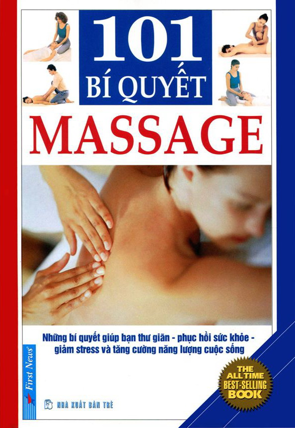 Bìa sách 101 Bí Quyết Massage