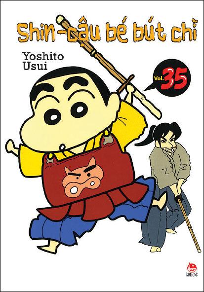 Khuyên đọc sách Shin - Cậu Bé Bút Chì (Tập 35 - Tái Bản 2014)
