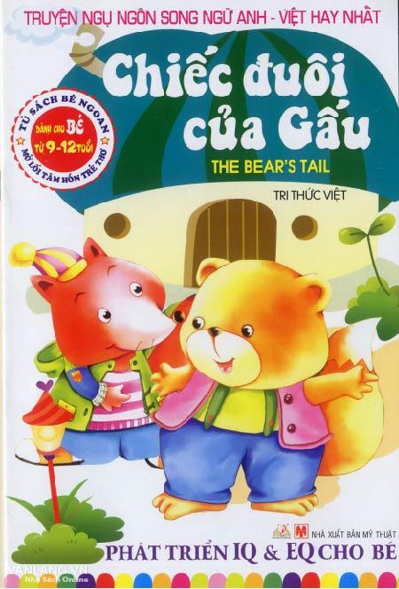 Bìa sách Truyện Ngụ Ngôn Song Ngữ Anh - Việt Hay Nhất - Chiếc Đuôi Của Gấu (Tái Bản 2014)