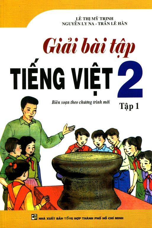 Bìa sách Giải Bài Tập Tiếng Việt Lớp 2 (Tập 1)