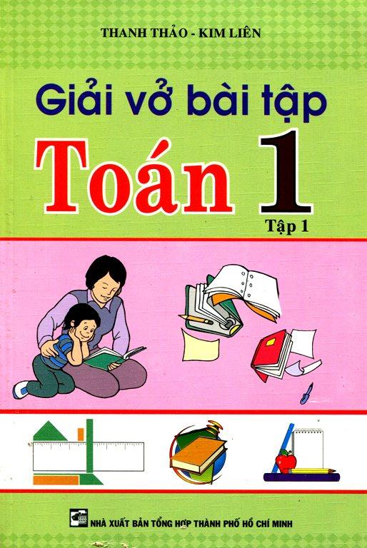 Bìa sách Giải Vở Bài Tập Toán 1 - Tập 1