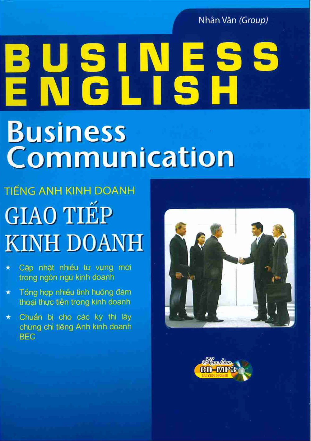 Tiếng Anh Kinh Doanh – Giao Tiếp Kinh Doanh (Kèm CD)