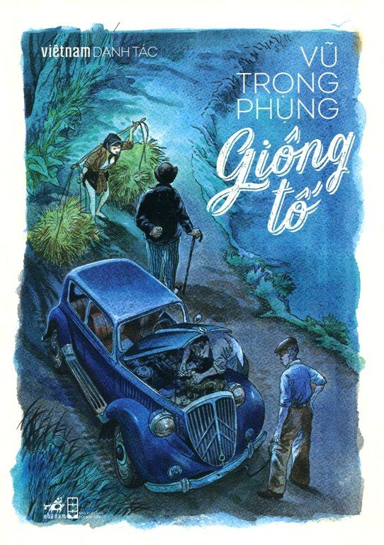Bìa sách Việt Nam Danh Tác - Giông Tố
