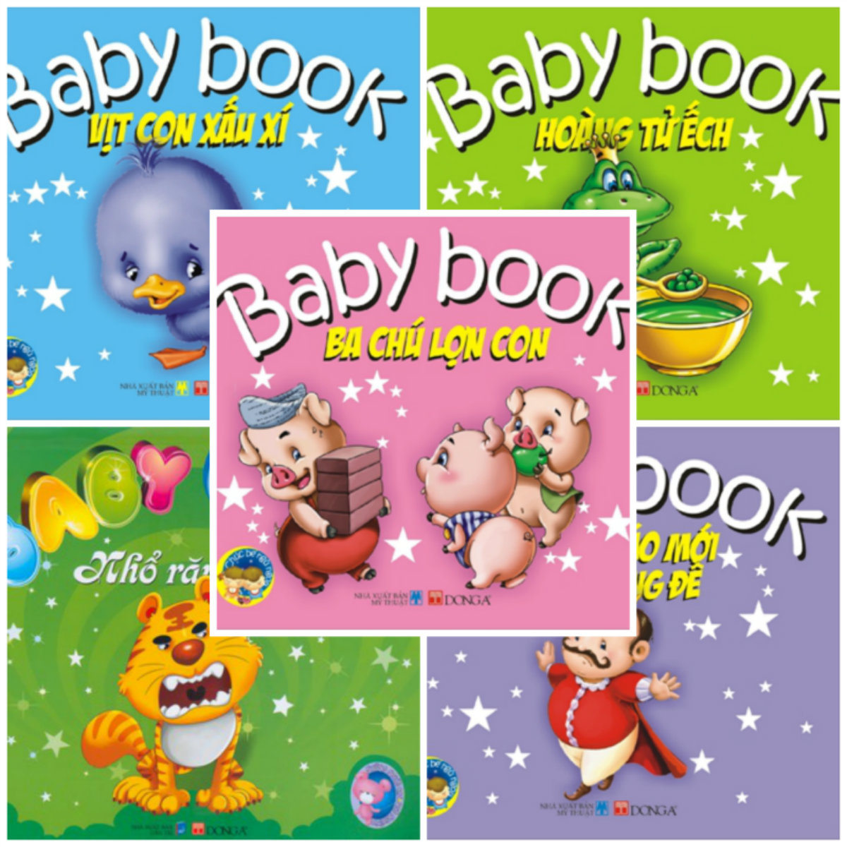 Bìa sách Baby Book - Chúc Bé Ngủ Ngon