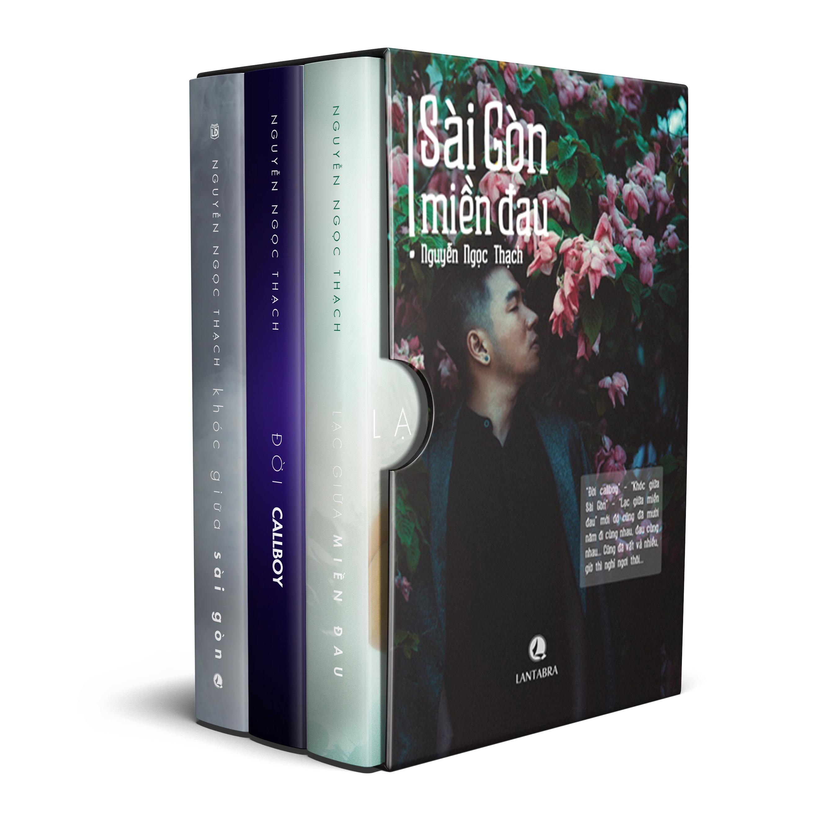 Bìa sách Boxset Sài Gòn Miền Đau