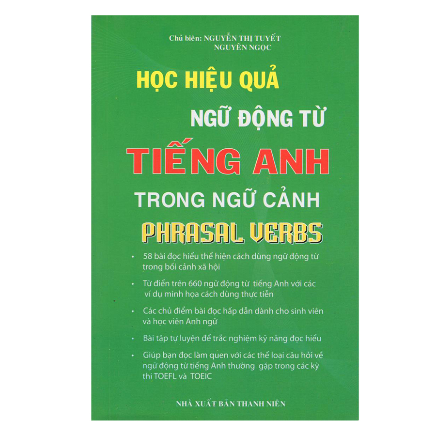 Bìa sách Phrasal Verbs - Học Hiệu Quả Ngữ Động Từ Tiếng Anh Trong Ngữ Cảnh